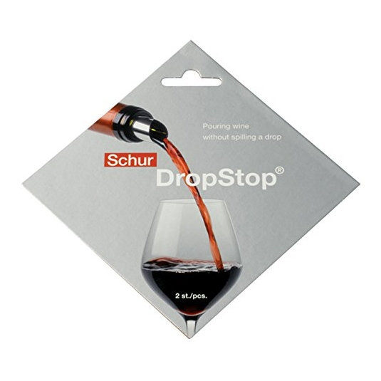 Disco versavino salvagoccia color argento - conf 2 pz DropStop
