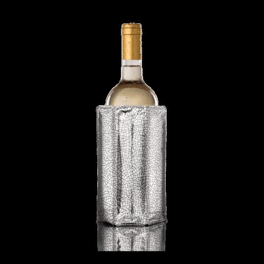 Custodia refrigerante per vino grigia Vacu Vin