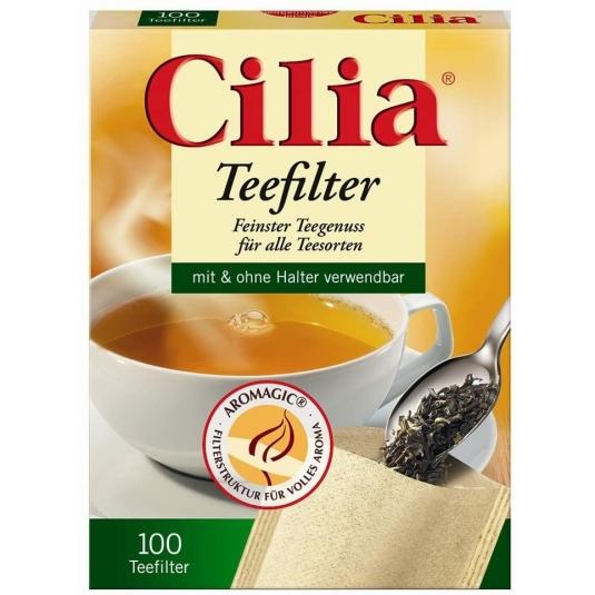 Confezione di 100 filtri da tè in carta M Cilia Melitta