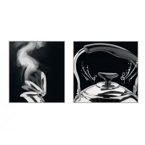 Bollitore Classico in acciaio inox 2,5L con fischietto a due suoni Cilio