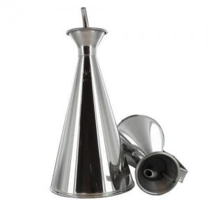 Oliera/acetiera con bordo antigoccia in acciaio inox 500ml G&R