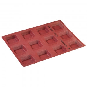 Stampo Formasil Quadrato 12 Impronte 6,5 cm