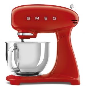 Impastatrice full color rosso 4,8L 800W SMF03RDEU 50's Style Smeg