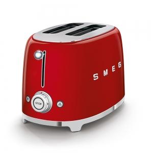 Tostapane 2x2 rosso 950W TSF01RDEU 50's Style Smeg