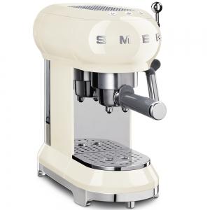 Macchina da caffè espresso crema 1350W ECF01CREU 50's Style Smeg