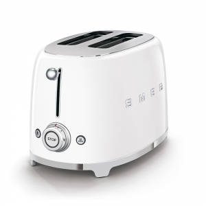 Tostapane 2x2 bianco 950W TSF01WHEU 50's Style Smeg
