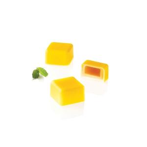 CH015 KIT QUADRO 01 Stampo in tritan + stampo in silicone 24 cioccolatini 2,5x2,5cm H1,5cm Silikomart
