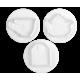 NO3022 Cutter TEA TIME con espulsore set 4 pz in plastica Pavoni