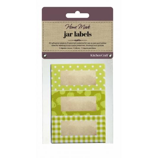 Etichette per Marmellata LAB10 Kitchen Craft