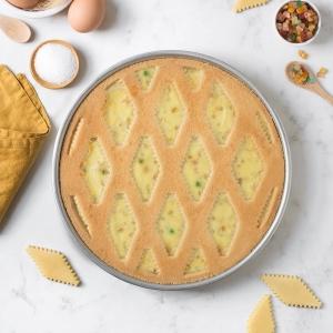 Griglia tagliapasta Ø30cm a trama tradizionale per crostata/pastiera Decora