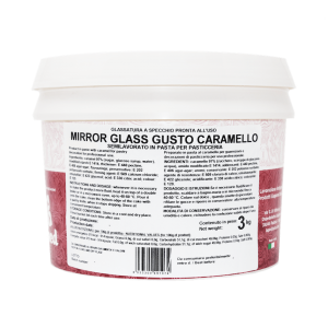 MIRROR GLASS Glassa a specchio al caramello 3kg Laped