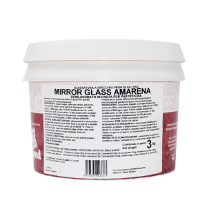 MIRROR GLASS Glassa a specchio amarena 3kg Laped