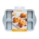 MINI PLUM CAKE Stampo antiaderente 8 impronte 9,5x6,3cm H4cm Decora