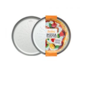 Teglia per pizza forata rotonda acciaio antiaderente Ø28cm Decora