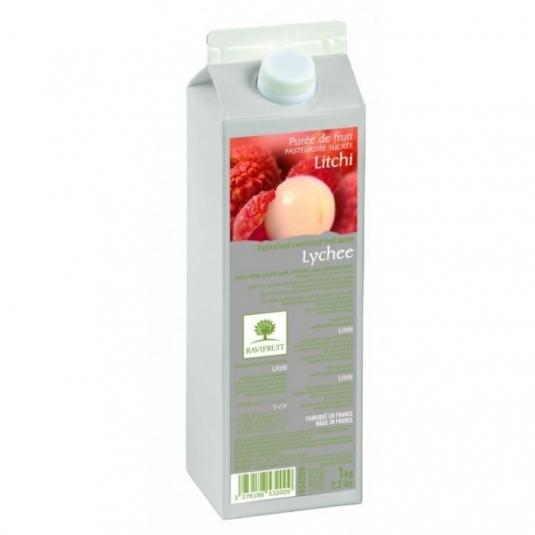 Purea di litchi 10% zucchero 1kg Ravifruit