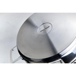 Pentola Ø22cm 2M+coperchio in acciaio inox Accordo Moneta