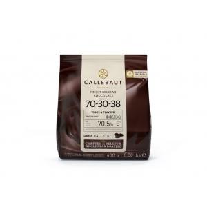Cioccolato fondente 70,5% N.70-30-38 Sacchetto 400gr Callebaut