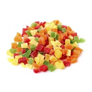 Frutta candita mista a cubetti - conf 100 gr Madma