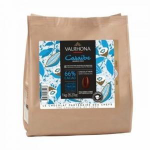 Cioccolato Valrhona Caraibe 66% 1Kg