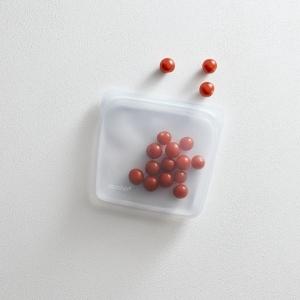Stasher bag Sandwich Clear Sacchetto in silicone M 450ml multiuso riutilizzabile
