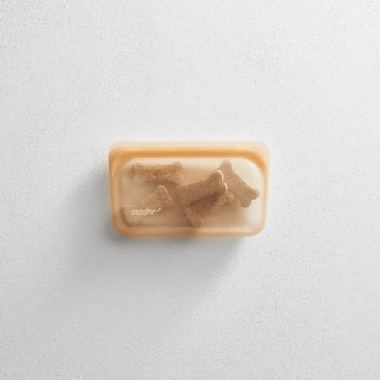 Stasher bag Snack Aqua Sacchetto in silicone S 293,5ml multiuso riutilizzabile