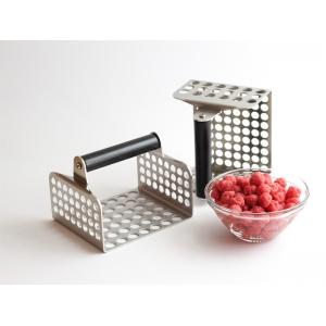 SPRISH Stampo in acciaio a fori piccoli 10mm CBE Elettrodomestici