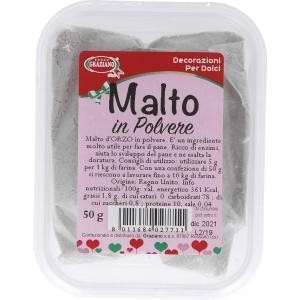 Malto in polvere 50gr Graziano