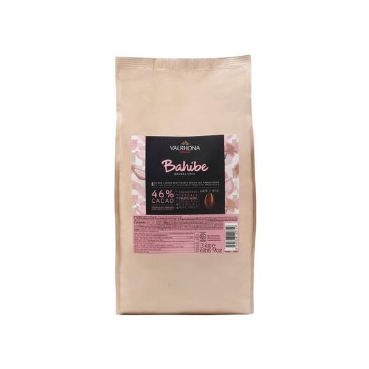 Cioccolato BAHIBE 46% Sacco da 3Kg Valrhona