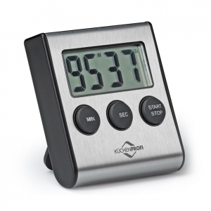 PRIMUS Timer digitale inox/resina CM 6,5X2X7