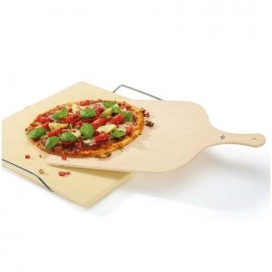 Pala per pizza XL in legno di betulla 50x37cm Kuchenprofi