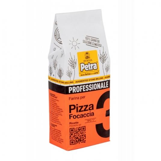 Petra 3 Farina per pizza e focacce Sacco 500gr Molino Quaglia
