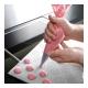 Tappetino in silicone con fibra di vetro antiaderente 30X40 per 22 macaron 4935.40 De Buyer