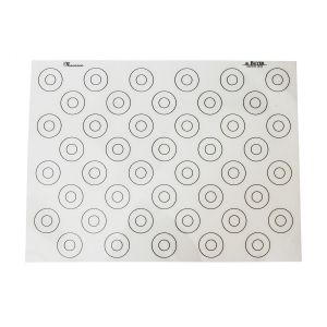 Tappetino in silicone antiaderente 40X60 per 44 macaron 4935.60 De Buyer