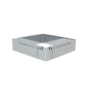 Cornice inox estensibile 30x30cm/57x57cm H5cm 3013.30 De Buyer