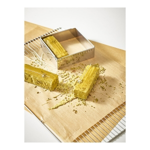 Cornice inox estensibile 20x20cm/37x37cm H5cm 3013.20 De Buyer