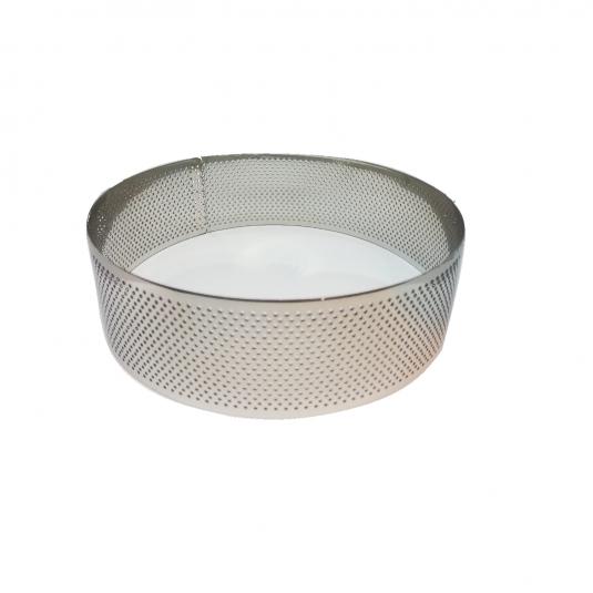 Anello inox microforato cerchio H4,5cm - varie misure Calder