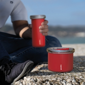 LUNCH BOX TERMICO ''ENERGY'' ROSSO