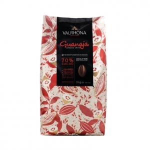 Cioccolato GUANAJA 70% Sacco da 3Kg Valrhona