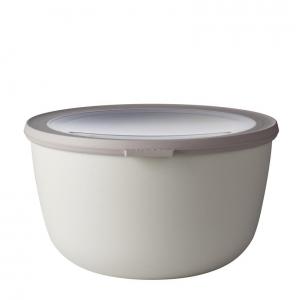 Ciotola Multi Bowl Cirqula 3L c/coperchio in plastica PP bianco Mepal