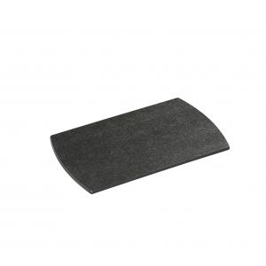 Tagliere COMFORT LINE in fibra di legno nero 28x20cm H6mm Zassenhaus