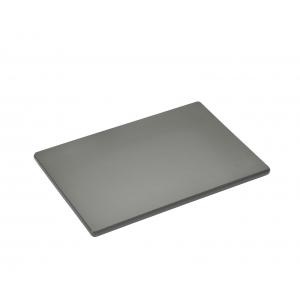 PROFI Tagliere in polietilene grigio 25x17cm H1cm Zassenhaus