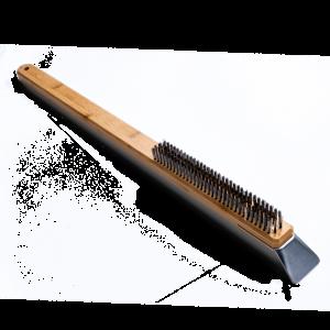 Spazzola pulisci forno in bambù e acciaio inox Ooni