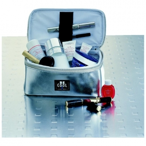 Borsa termica cosmetici/medicine grande 1,5L argento serie CITY Be Cool