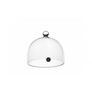 Campana per affumicatore in vetro con valvola Ø14cm serie Aladin 100% Chef