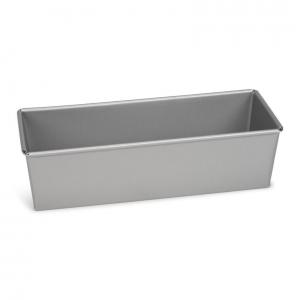 Stampo rettangolare 30x11cm in alluminio antiaderente Silver Top Patisse