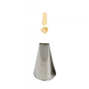 Bocchetta intreccio N.44 in acciaio inox Decora