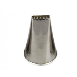Bocchetta intreccio N.47 in acciaio inox Decora