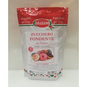 Zucchero fondente in polvere 500gr Graziano
