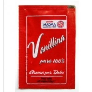 Vanillina pura 100% bustina da 0,5gr Madma