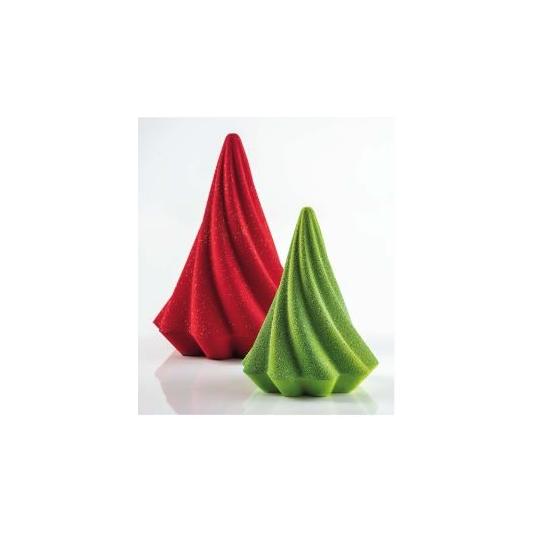ALBERO MINI TWIRL KT200 Stampo termoformato per cioccolato Kit 2 alberi di Natale Pavoni